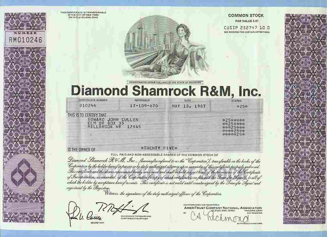 diamond international co corporation essay Starbucks corporation, an american company founded in 1971 in seattle, wa,   crucial strategy for starbuck's growth has been its international strategies of.